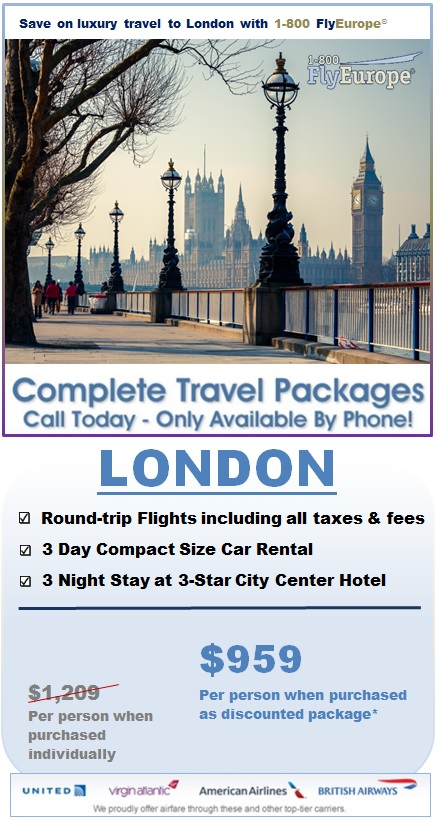 Vacation Packages To London London Travel Deals